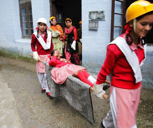 Integrated Community-Based DRR through School and Hospital Safety